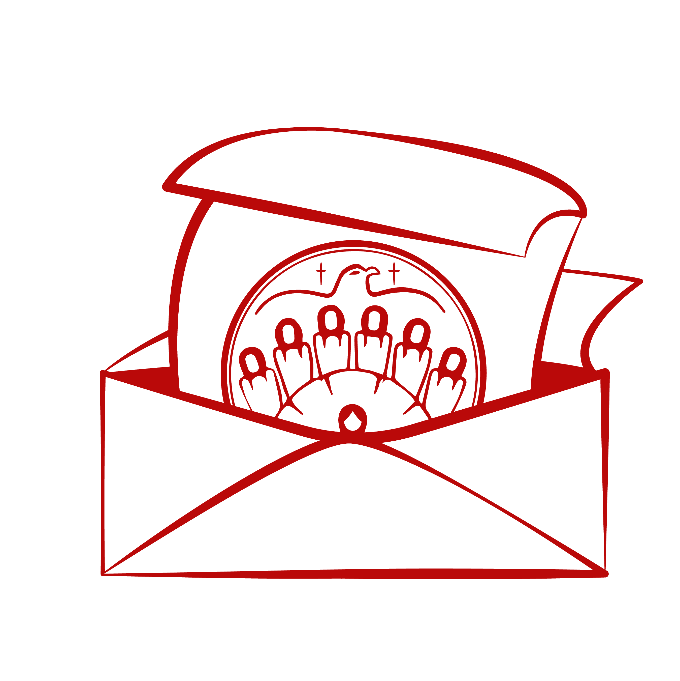 Image of Atikameksheng Trust Red Application Icon