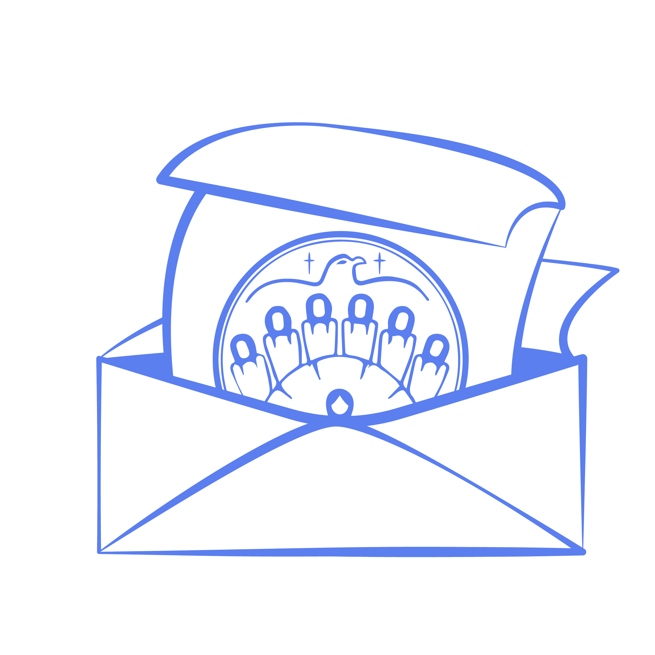 Image of Atikameksheng Trust Blue Application Icon